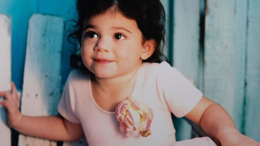 Kylie Jenner als kleines Kind