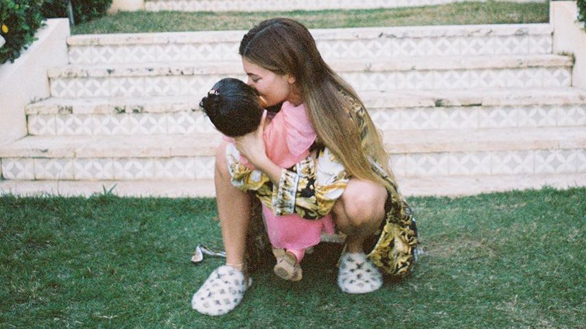 Kylie Jenner mit Tochter Stormi, Juni 2020