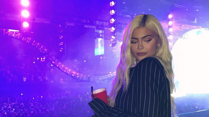 Family-Support als VIP: Kylie Jenner feiert Travis' Konzert!