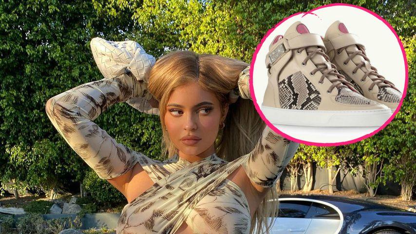 240 Diamanten: Kylie gönnte sich deutschen Designer-Sneaker