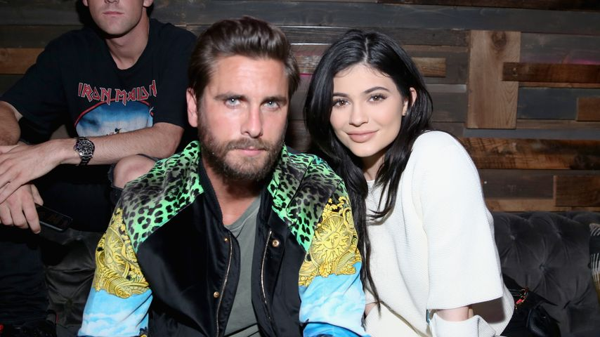 Kylie Jenner und Scott Disick auf der Nylon Young Hollywood-Party