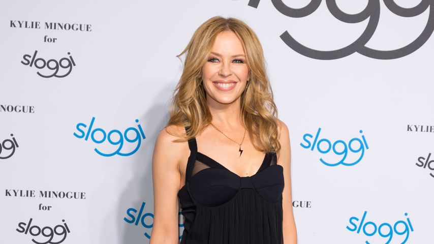 Immer noch total hot! Kylie Minogue ist wieder Dessous-Model