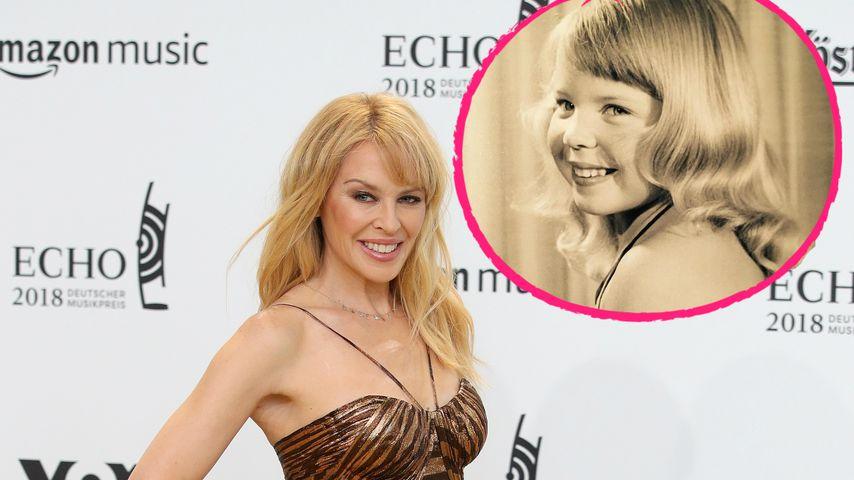 Knackige 50! Kylie Minogue schwelgt in Kindheits-Erinnerung