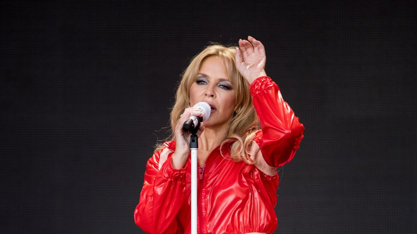 Kylie Minogue beim Glastonbury Festival 2019