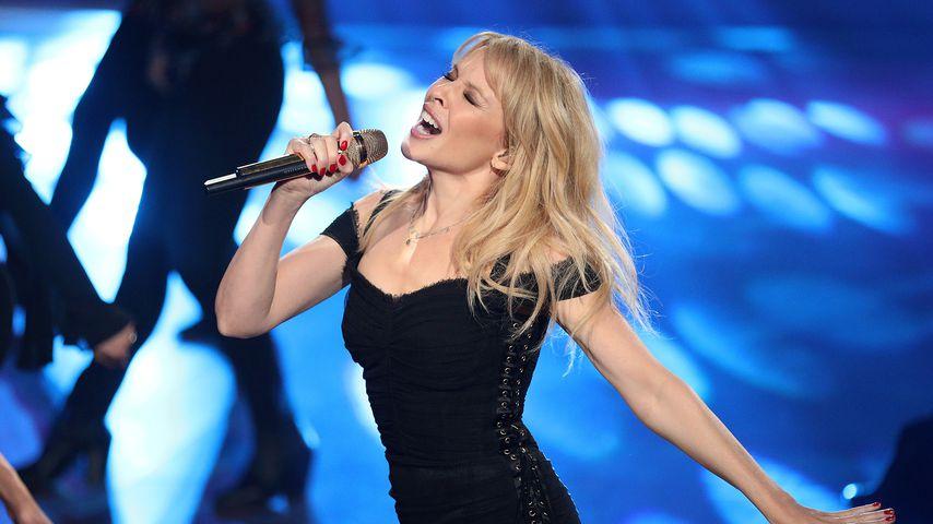 """Pop-Prinzessin Kylie Minogue singt bei der Tanz-Show """"Let's Dance"""""""