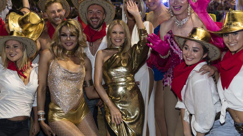 """Kylie Minogue bei der """"Gay & Lesbian Mardi Gras Parade"""" in Sydney"""