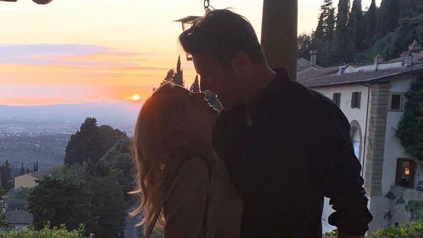 So romantisch: Kylie Minogue teilt süßen Paar-Schnappschuss