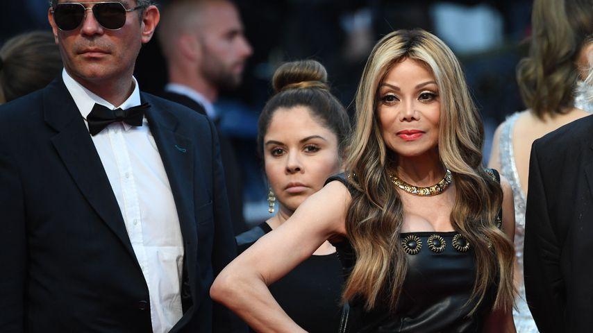 La Toya Jackson beim Film Festival in Cannes