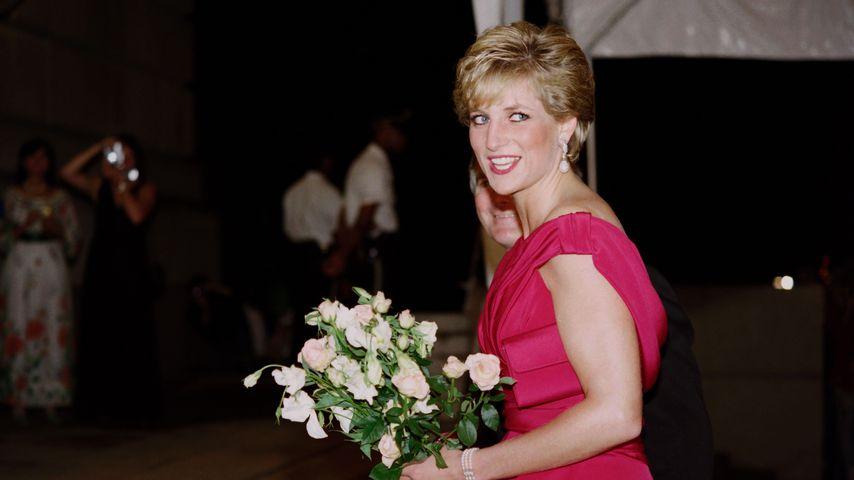 Lady Diana im Oktober 1990