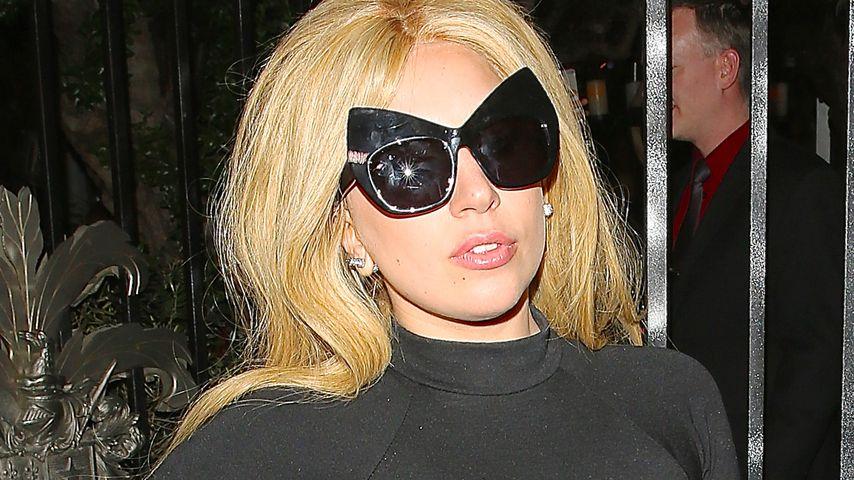 Lady Gaga im Pump Restaurant in West Hollywood