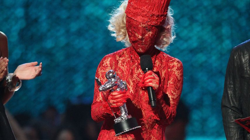 Lady Gaga während der MTV Video Music Awards 2009