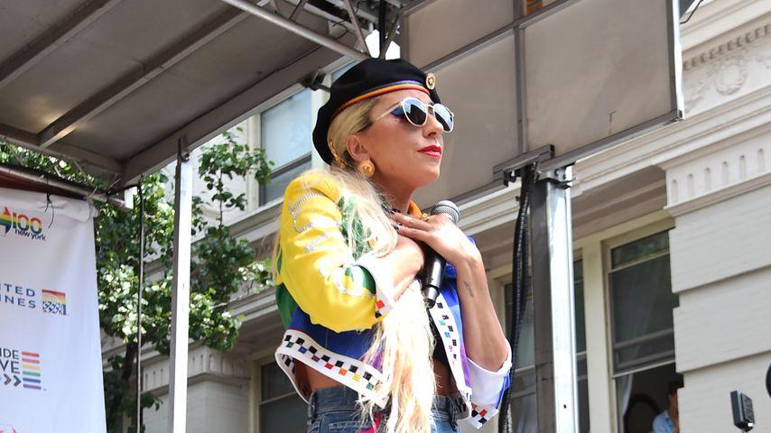 Musikerin Lady Gaga bei der Feier zum 50. Jahrestag der Stonewall-Proteste in New York