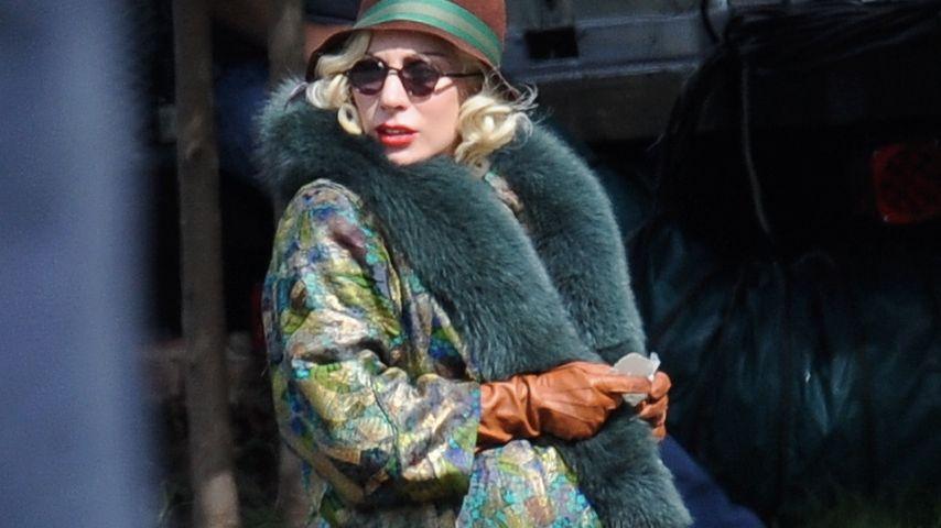 Am Set von AHS: Lady Gaga mit Fake-Babybauch gesichtet