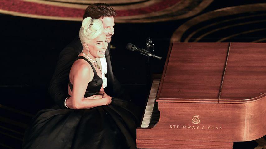 Lady Gaga und Bradley Cooper bei den Oscars 2019