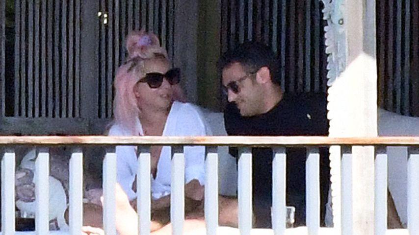 Lady Gaga und Michael Polansky in Miami, Januar 2020