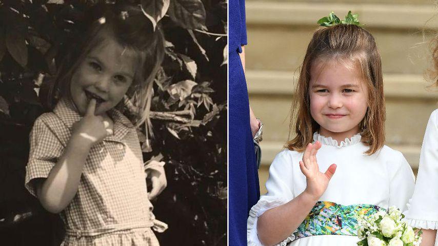 Gene von Lady Di? Prinzessin Charlotte gleicht Kitty Spencer
