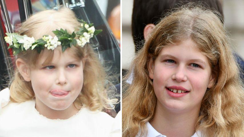 Neue Fotos: Herzogin Kates Blumenmädchen schielt nicht mehr