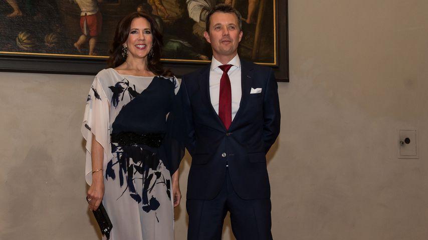 Kronprinzessin Mary und Kronprinz Frederik bei einem Besuch in Deutschland