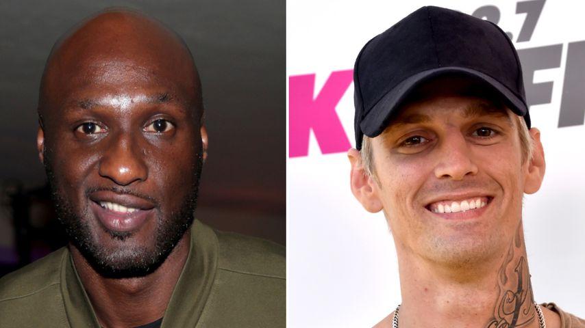 Schaukampf: Lamar Odom und Aaron Carter steigen in den Ring!