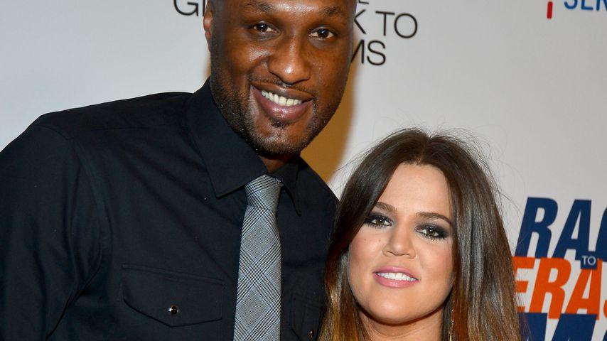 Lamar Odom und Khloé Kardashian bei einem Benefiz-Event in Kalifornien im Mai 2012
