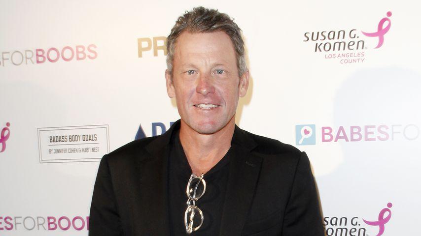 Lance Armstrong bei einer Benefiz-Veranstaltung in Los Angeles