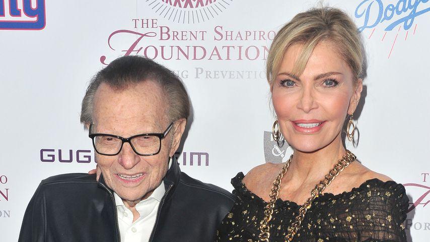 Larry King und seine Frau Shawn