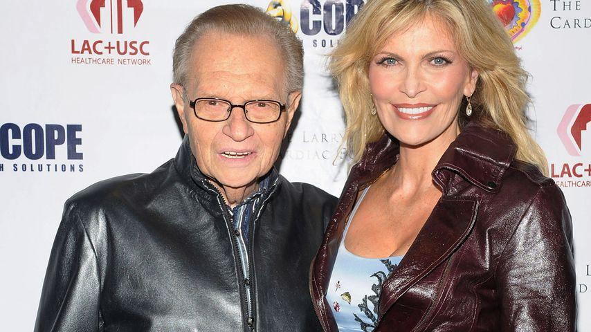 Larry und Shawn King bei einem Event in West Hollywood im November 2009