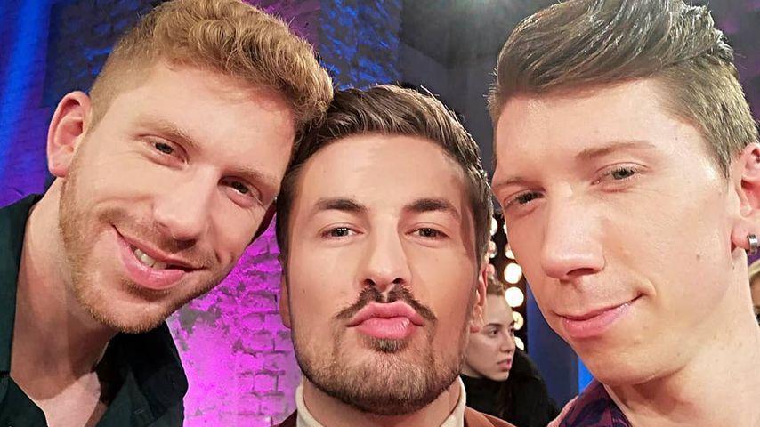 """Lars, Nicolas und Manuel von """"Prince Charming"""""""