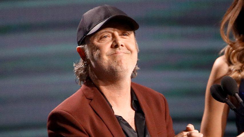 "Lars Ulrich auf den ""Latin Grammy Awards"" in Las Vegas, 2019"
