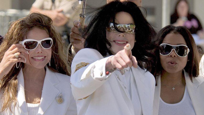 LaToya, Michael und Janet Jackson, 2005