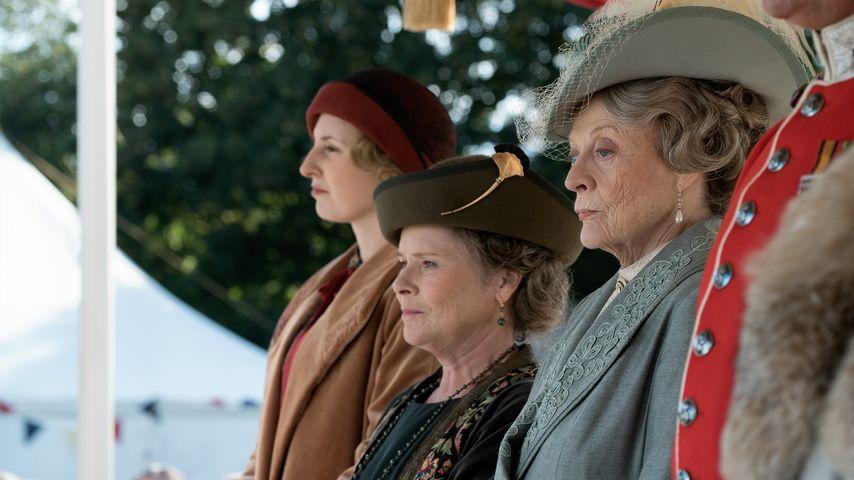 """Laura Carmichael, Imelda Staunton und Maggie Smith in """"Downton Abbey"""""""