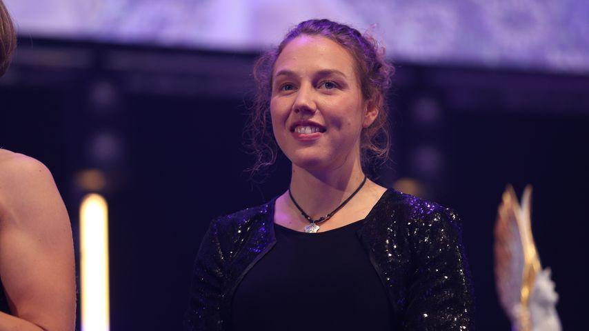 Laura Dahlmeier 2019 in Frankfurt