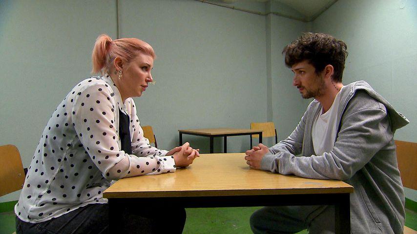 Paula (Laura Maack) und Jannes (Benjamin Mittelstädt)