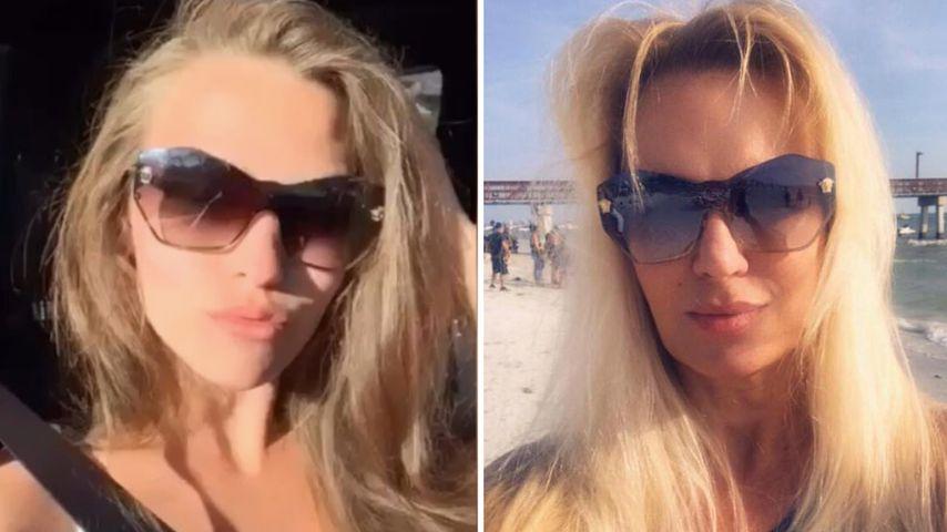 Zufall? Wendler-Laura und Wendler-Ex tragen gleiche Brille!