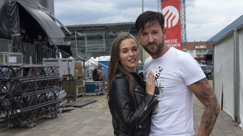 Laura Müller und Michael Wendler im Juli 2019 in Bremen