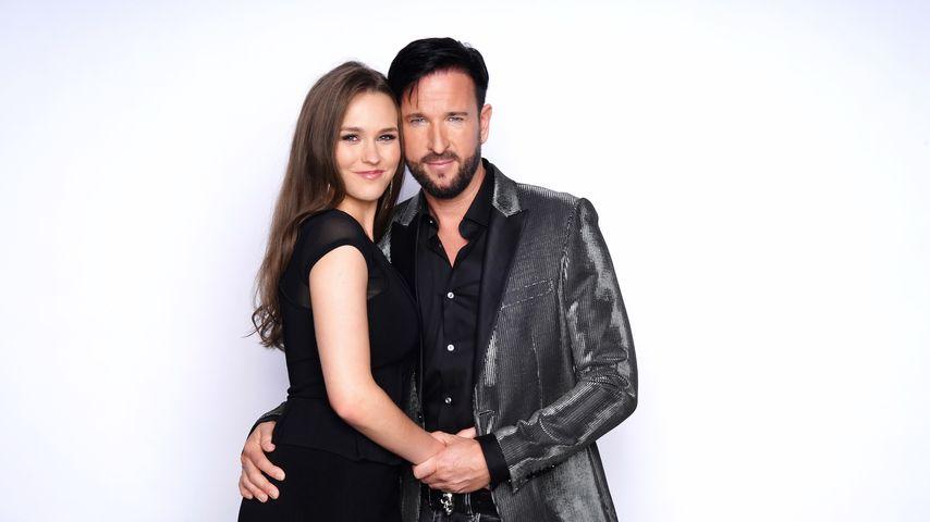 Laura Müller und Michael Wendler im März 2020
