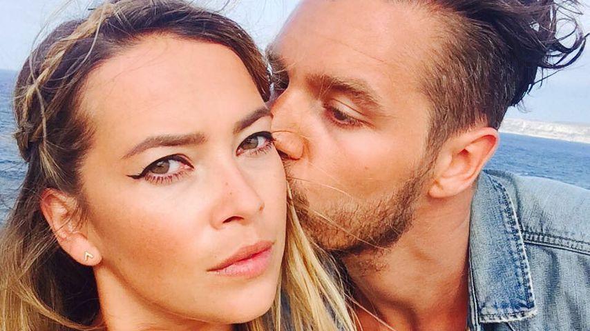 Laura Osswald mit ihrem Mann Krishan Weber in Spanien