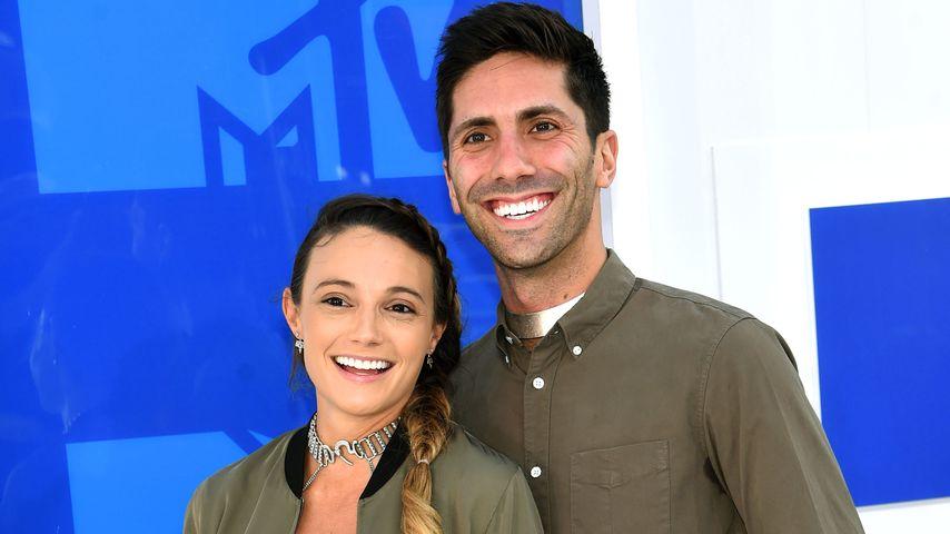 Laura Perlongo und Nev Schulman bei den MTV VMAs 2016