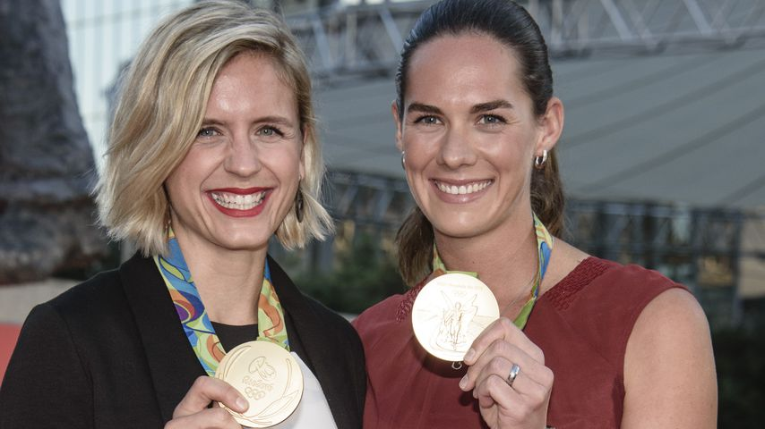 Laura Ludwig und Kira Walkenhorst in Berlin