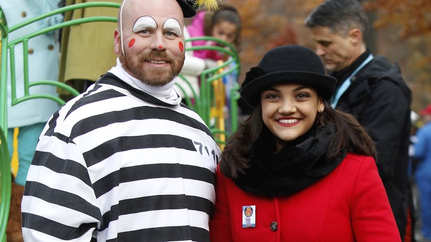 Lauren Hernandez bei der New-York-Thanksgiving-Parade