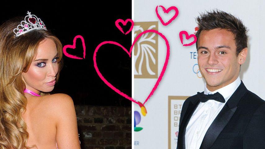 Sind Lauren Pope (29) und Tom Daley (18) ein Paar?