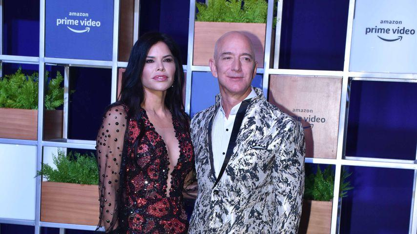 Lauren Sánchez und Jeff Bezos