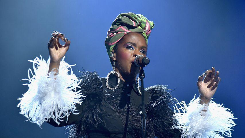 Lauryn Hill bei einem Auftritt im April 2018