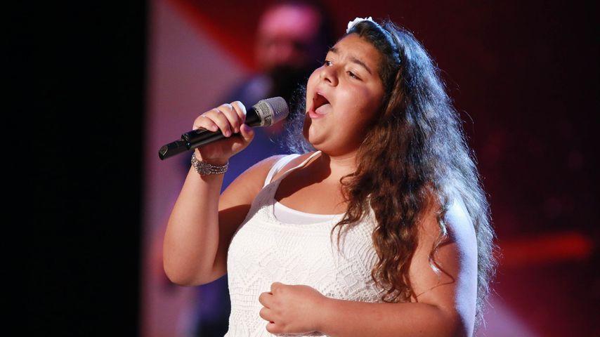 Wow! Goldstimmchen Lavinia (13) direkt im Supertalent-Finale