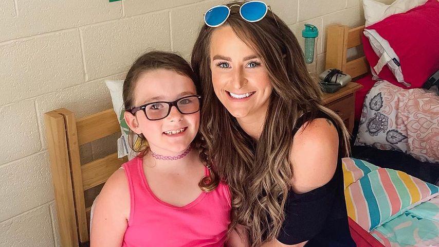 Leah Messer mit ihrer Tochter Aliannah