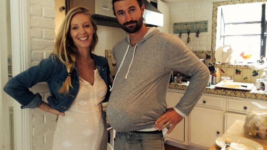 Schwangere Leah Jenner: Kugel-Vergleich mit Brandon