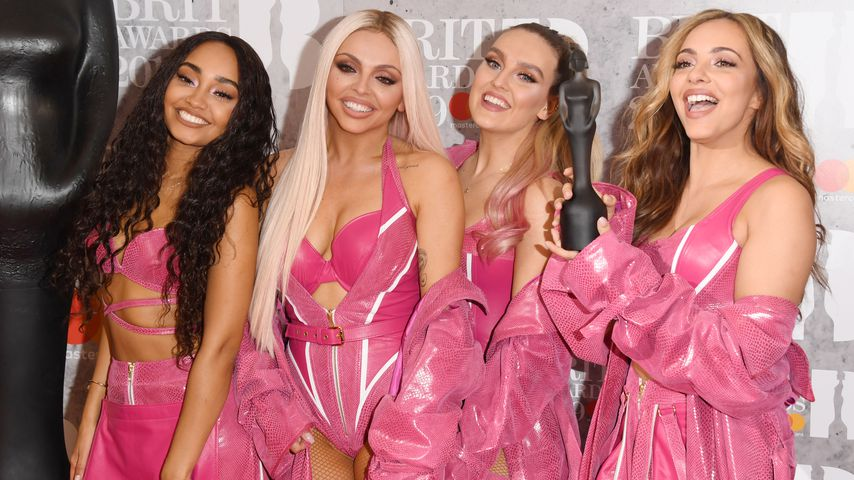 Leigh-Anne Pinnock,  Jesy Nelson, Perrie Edwards und Jade Thirlwall bei den Brits in London 2019