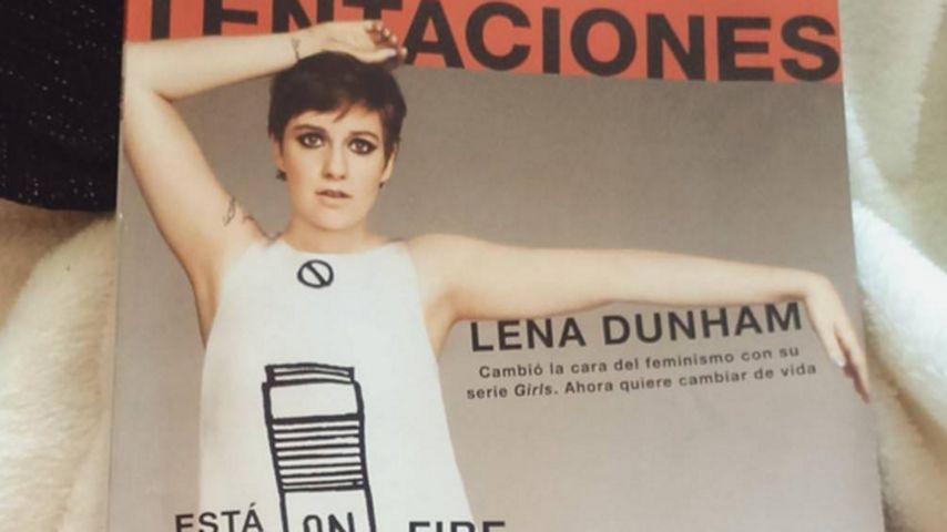 Photoshop-Fail: Lena Dunham sauer auf spanisches Magazin