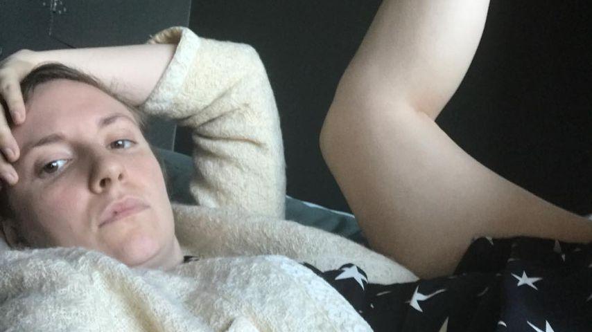 Lena Dunham in gedrückter Stimmung