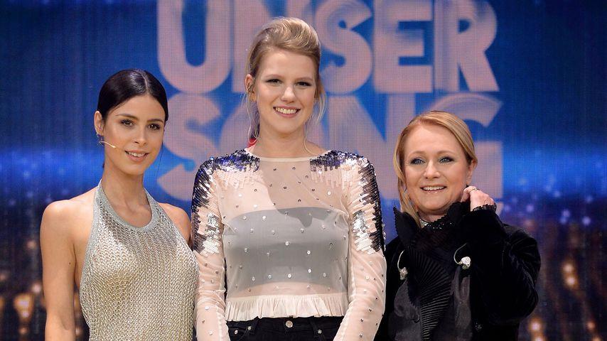Lena Meyer-Landrut, Levina und Nicole beim ESC-Vorentscheid 2017